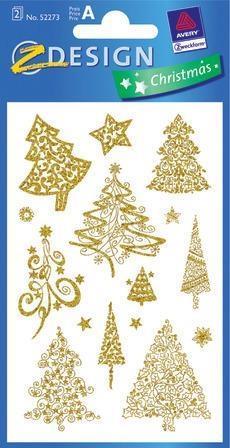Naklejki Świąteczne - Choinki