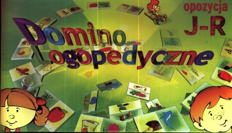 Domino logopedyczne J-R SAMO-POL
