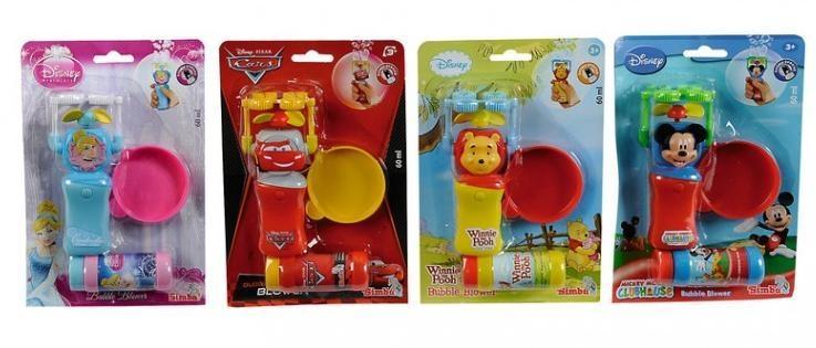 Disney figurki do baniek, 4 rodzaje