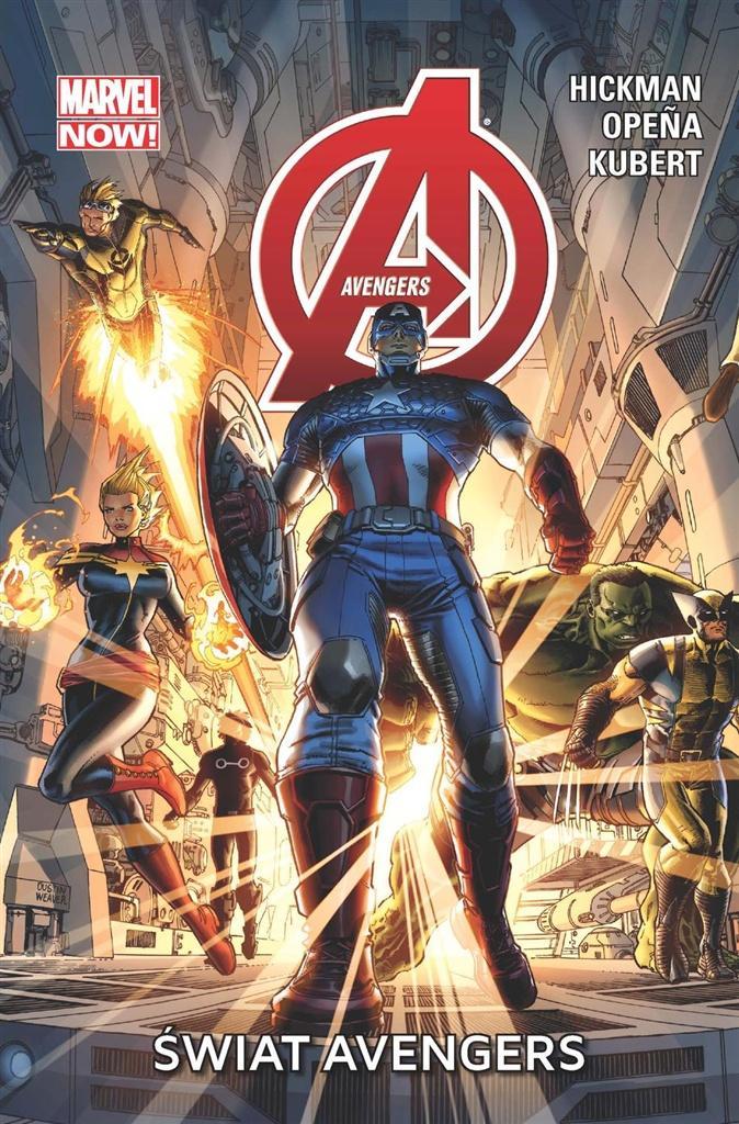 Avengers T.1 Świat Avengers