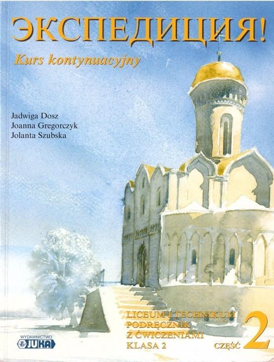 Ekspedicja kontyn. kl 2 cz.2 podr z ćw (+ CD) JUKA