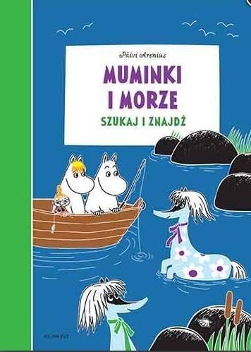 Muminki i morze. Szukaj i znajdź
