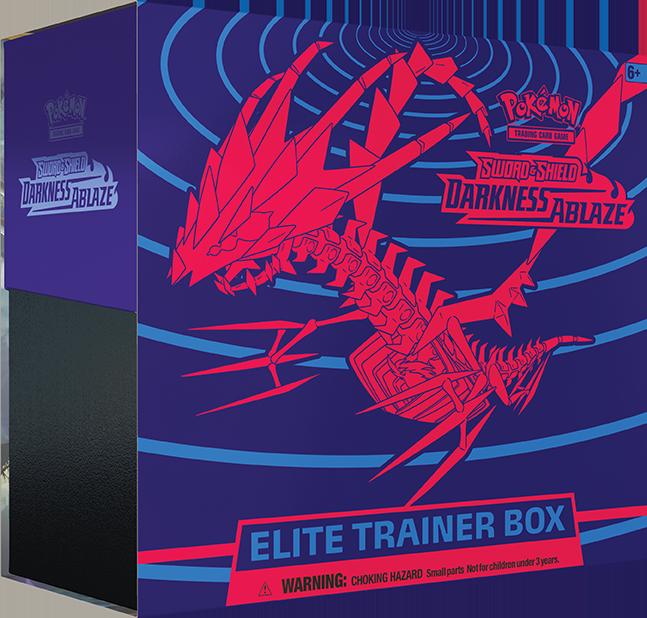 Pokemon TCG: Darkness Ablaze - Elite Trainer Box