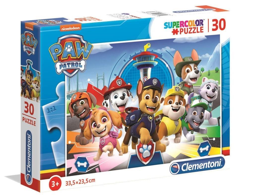 Puzzle 30 Super Kolor Paw Patrol
