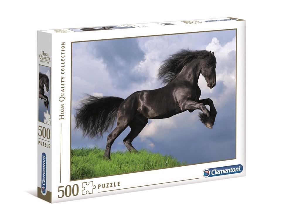 Puzzle 500 HQ Fresian Black Horse