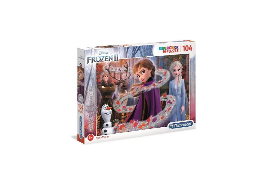 Puzzle 104 Brokat Frozen 2 Glitter