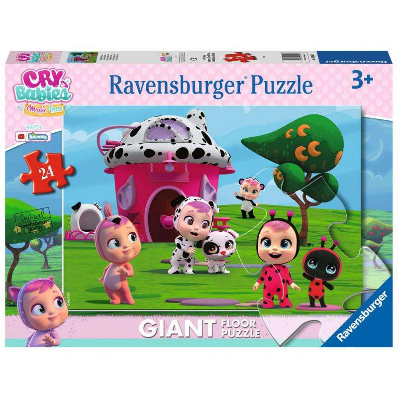 Cry Babies Magic Tears - Puzzle podłogowe 24el.