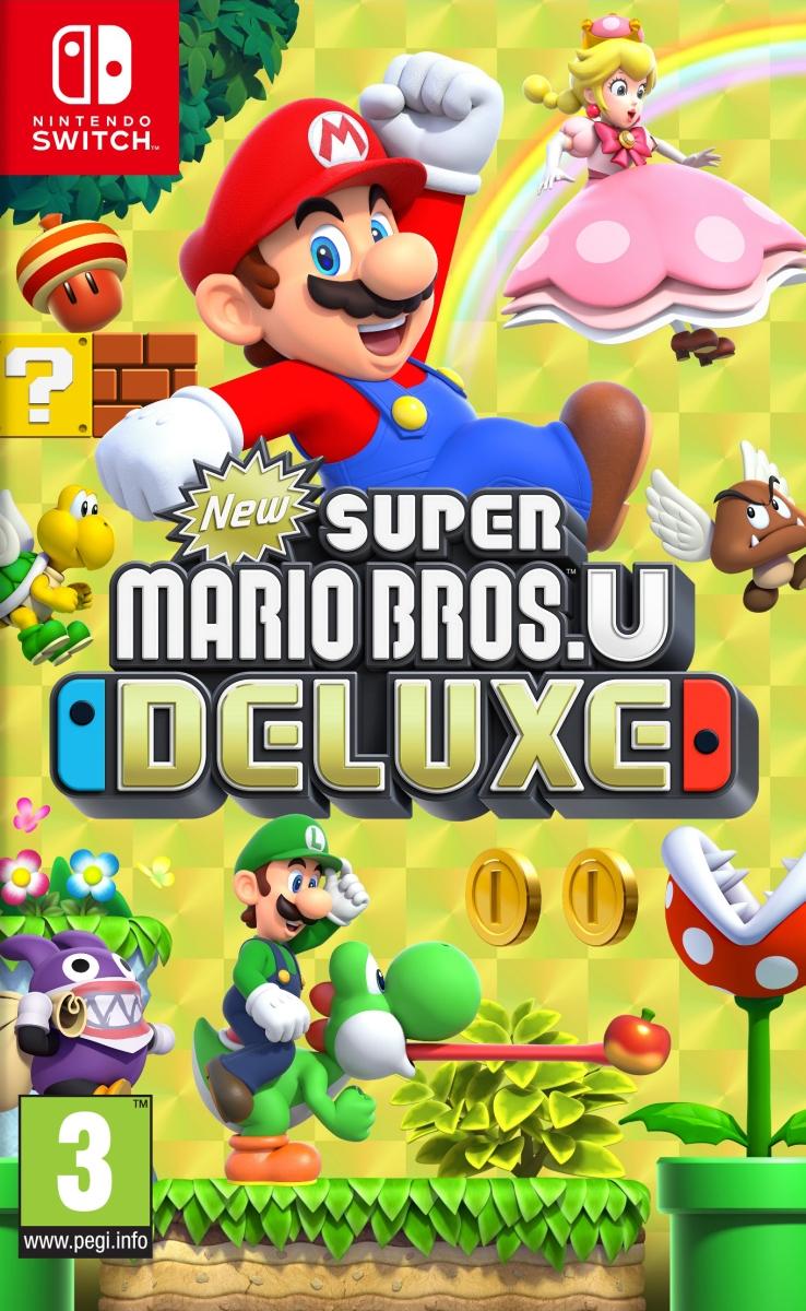 New Super Mario Bros U Deluxe (Switch) DIGITAL