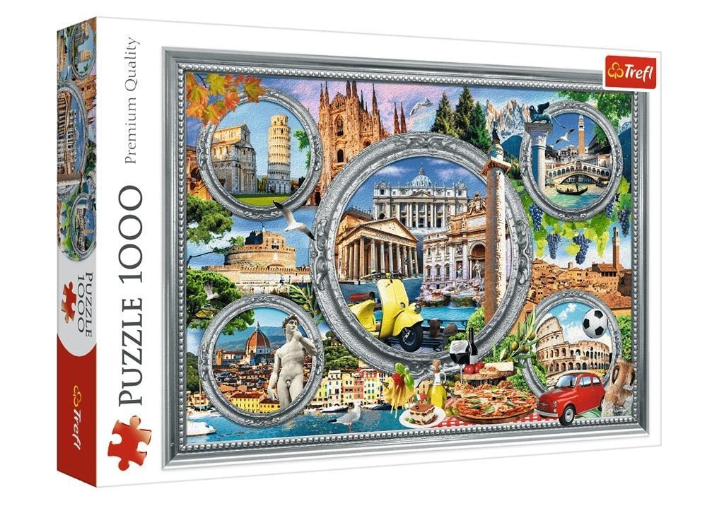 Puzzle 1000 Włoskie wakacje TREFL
