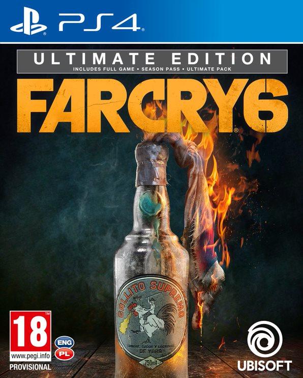 Far Cry 6 Ultimate Editon (PS4) + BONUS