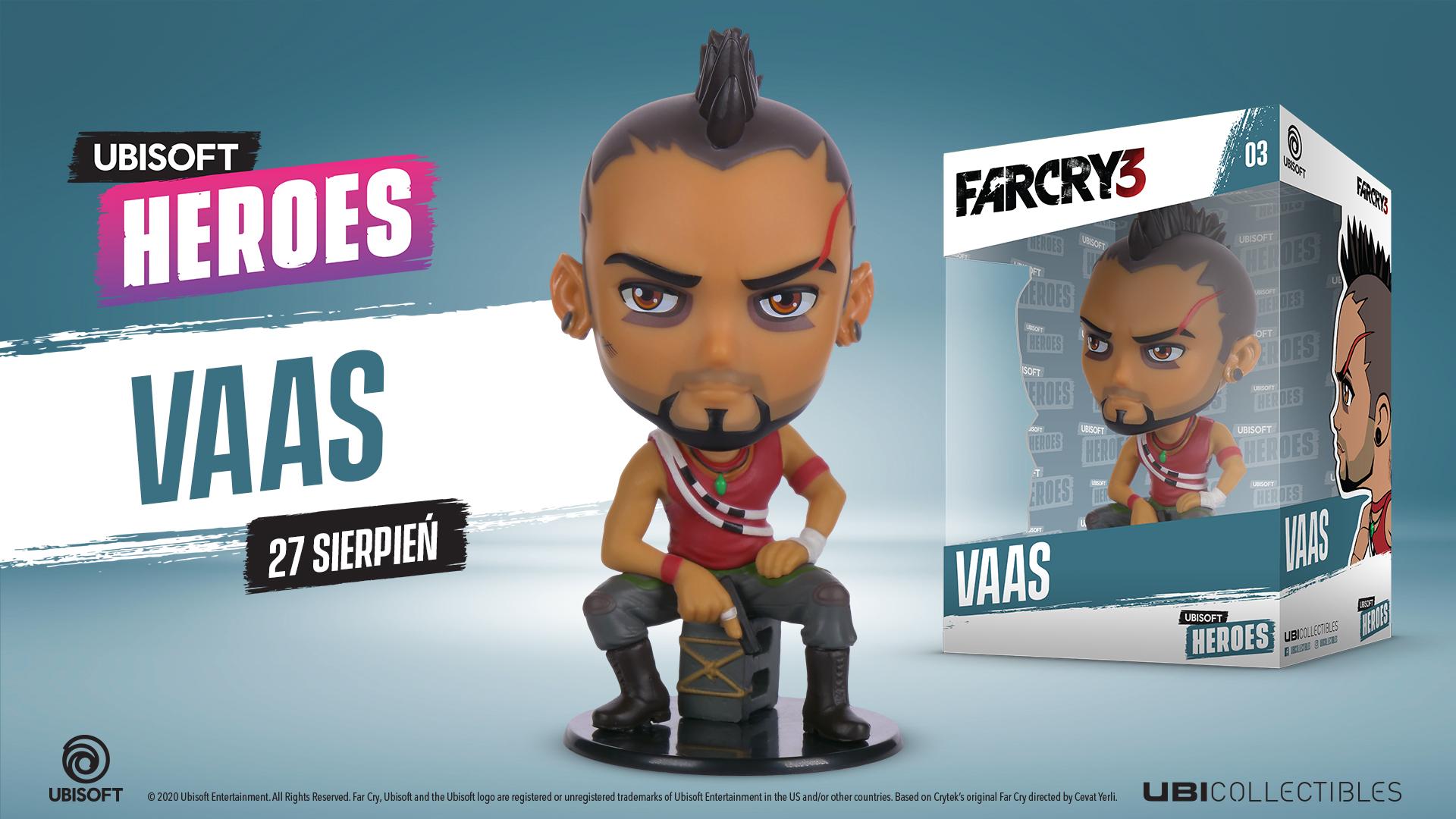 Ubi Heroes - Far Cry Vaas Chibi figurka