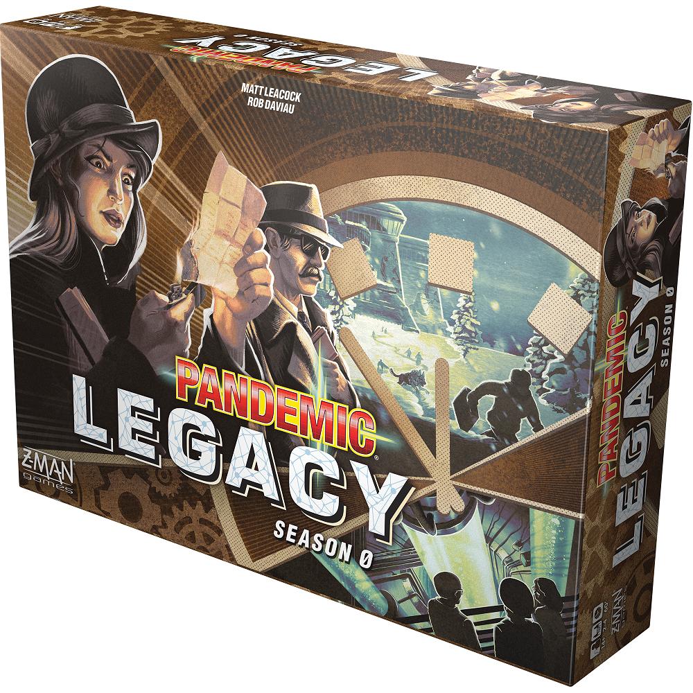 Pandemic Legacy: Sezon 0 (gra planszowa)