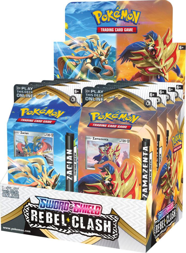 Pokemon TCG: Sword & Shield - Rebel Clash PCD (Display 8 szt.)
