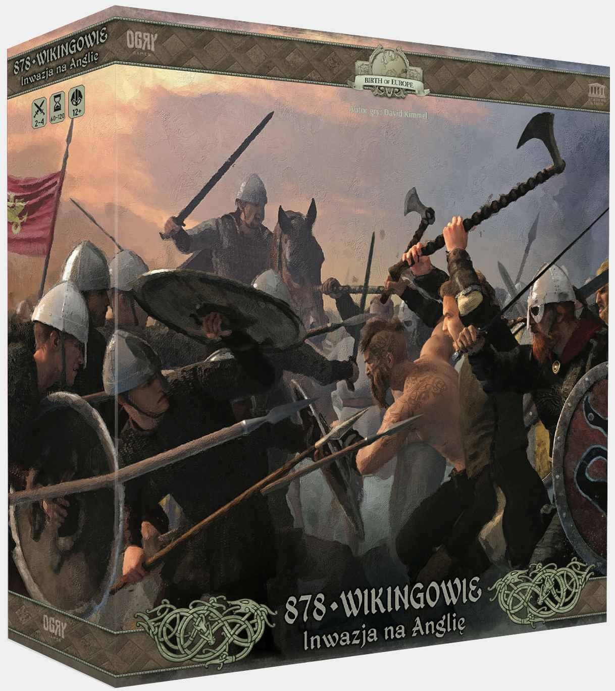 Wikingowie 878: Inwazja na Anglię (Gra Planszowa)