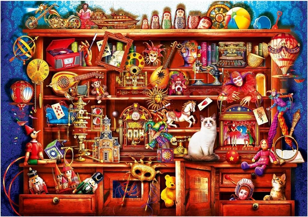 Puzzle 1000 Sklep ze starociami Ciro Marchetti