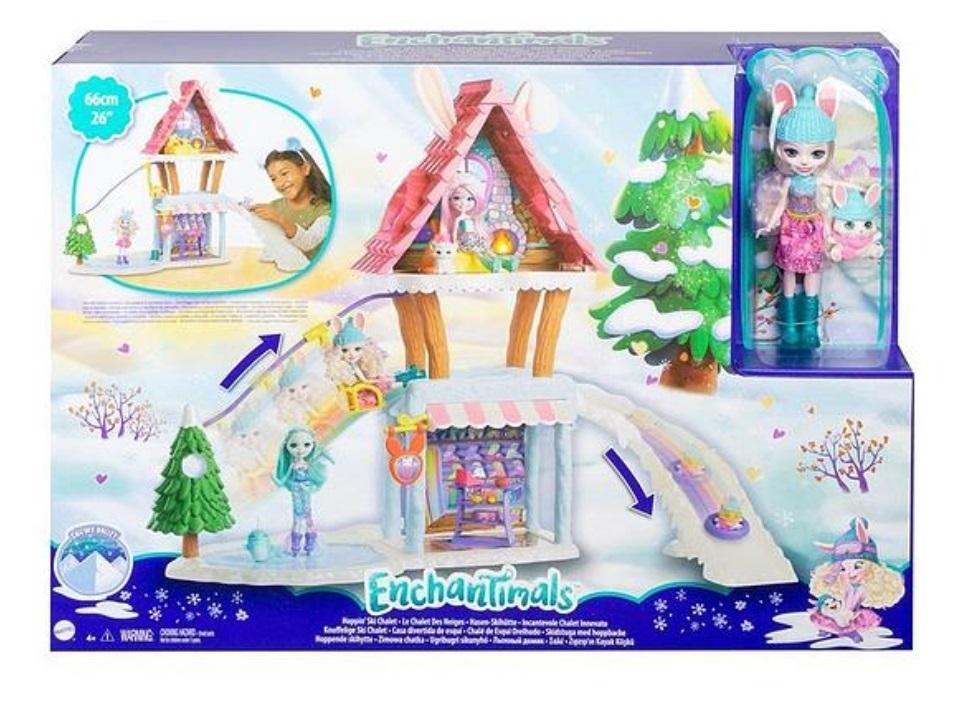 Enchantimals. Zestaw zimowa chatka