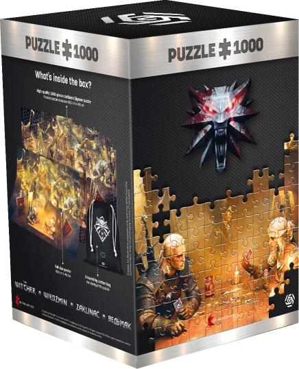 Good Loot Puzzle Wiedźmin Playing Gwent 1000 elementów