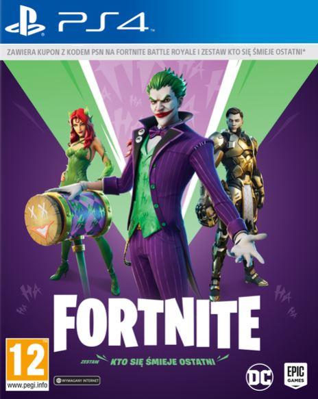 Fortnite The Last Laugh Bundle (PS4)