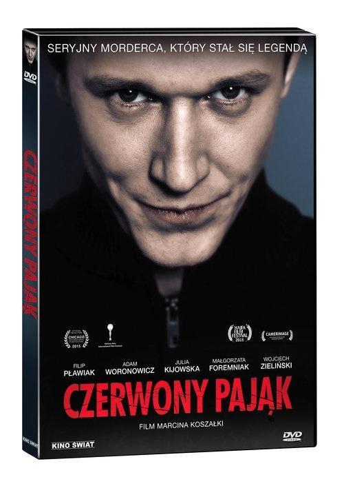 Czerwony Pająk DVD