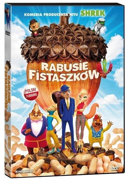 Rabusie Fistaszków. DVD