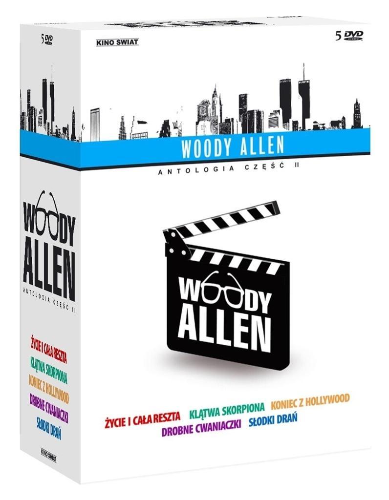 Woody Allen Antologia cz. II (5 DVD)