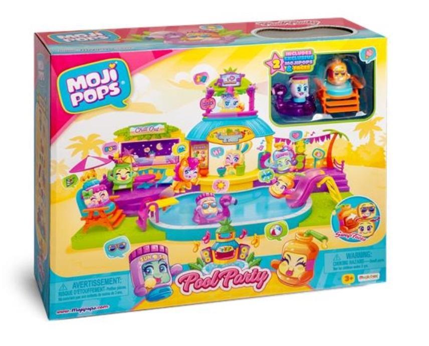 MojiPops Playset Pool Party