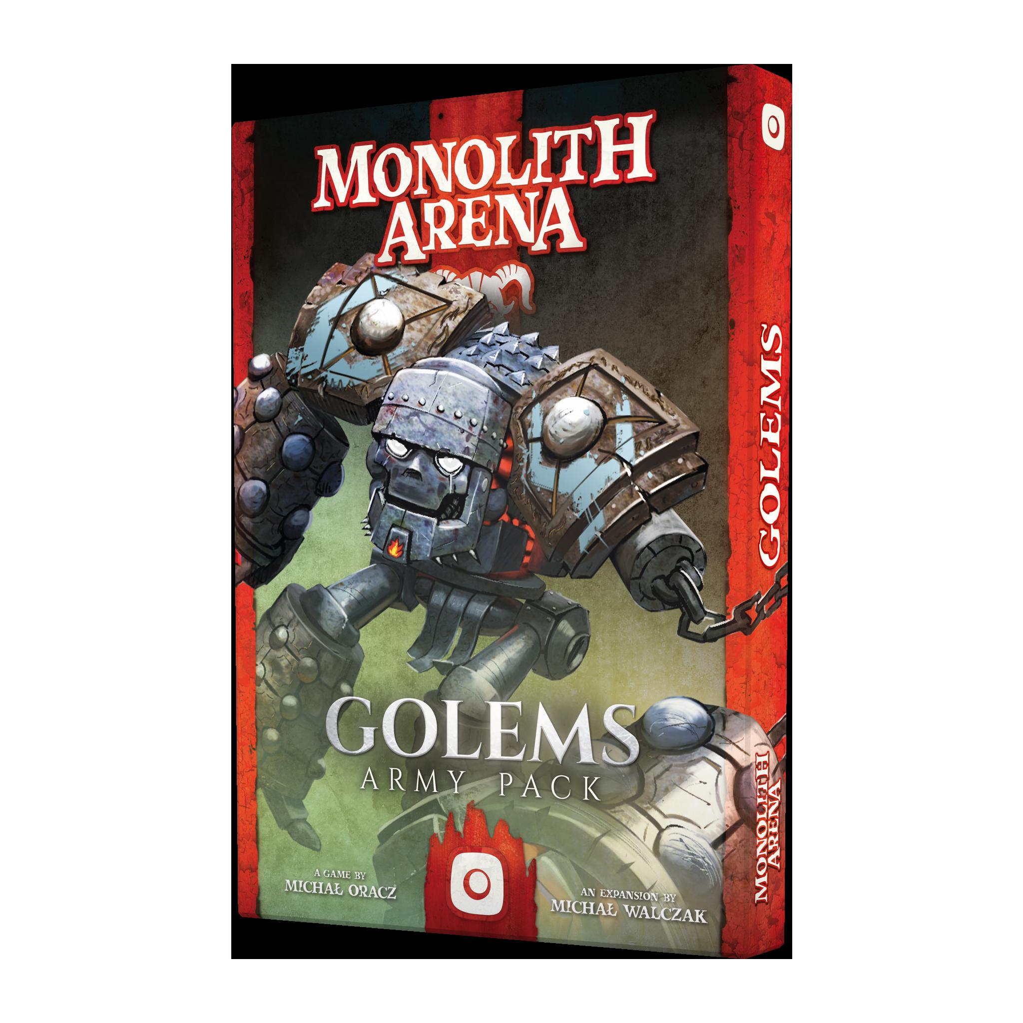 Monolith Arena: Golems PL/ENG (gra planszowa)