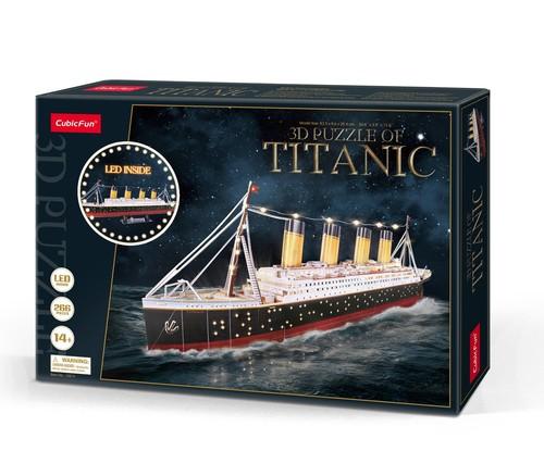 Puzzle 3D LED Titanic