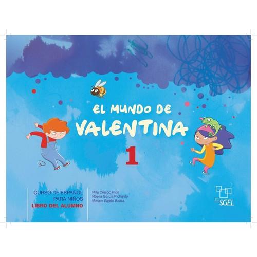 Mundo de Valentina 1 Libro del alumno