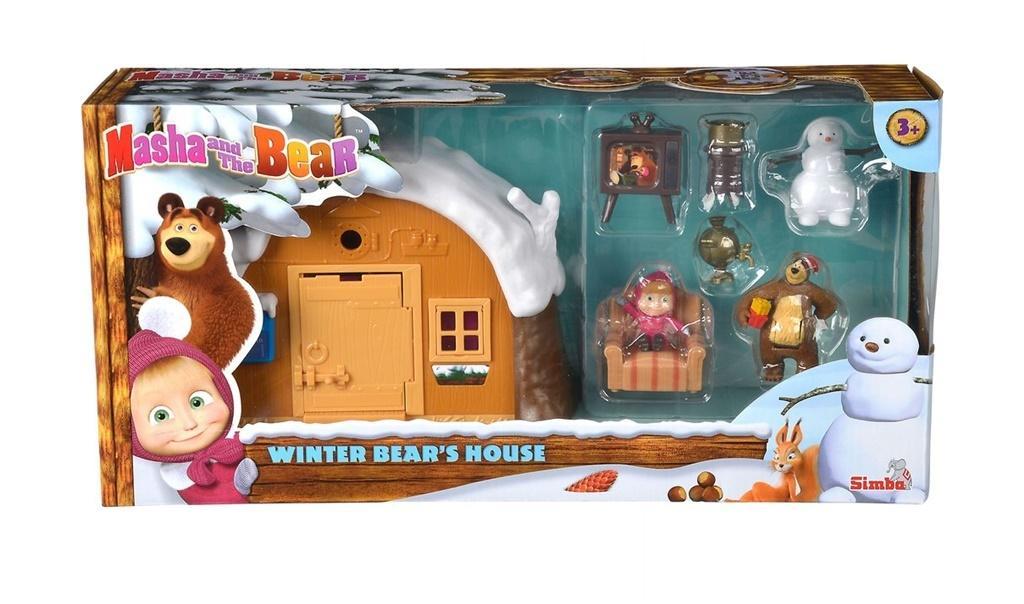 Masza Zimowy domek Niedźwiedzia