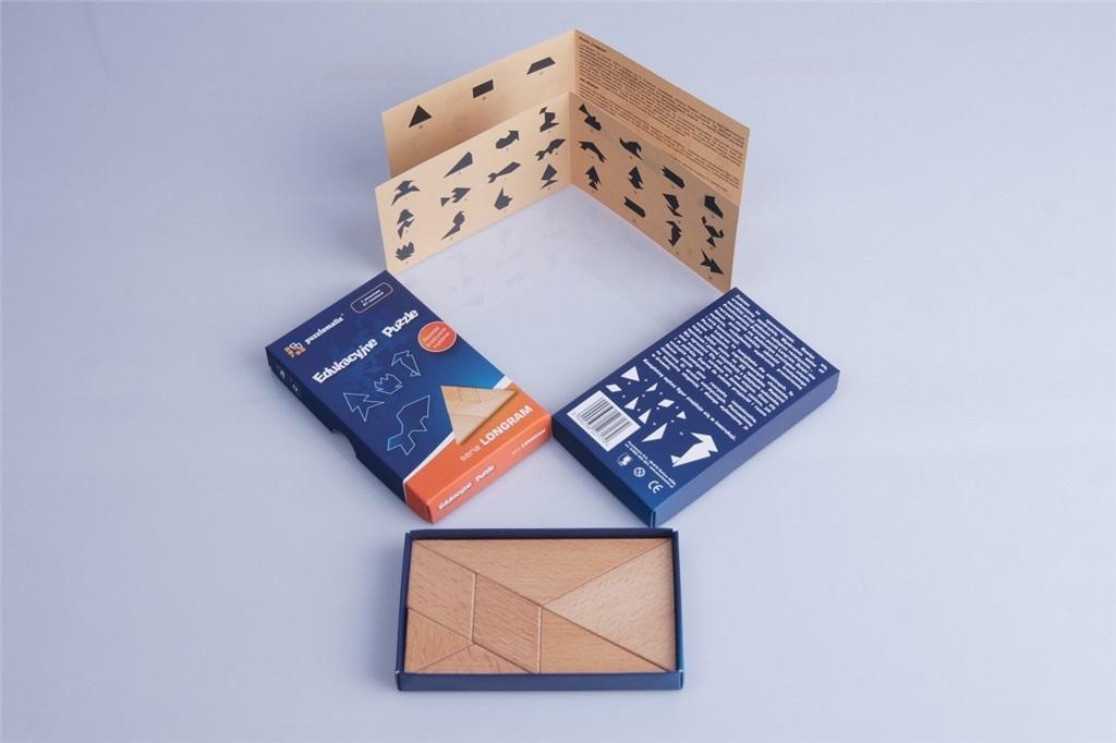 Puzzle drewniane - seria LONGRAM
