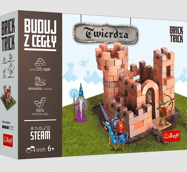 Brick Trick - Buduj z cegły Twierdza TREFL