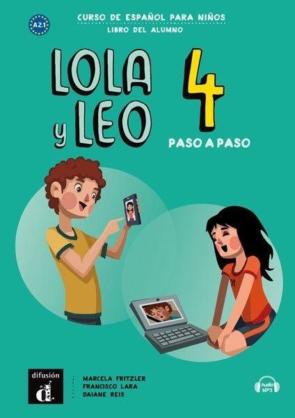 Lola y Leo 4 paso a paso podręcznik ucznia