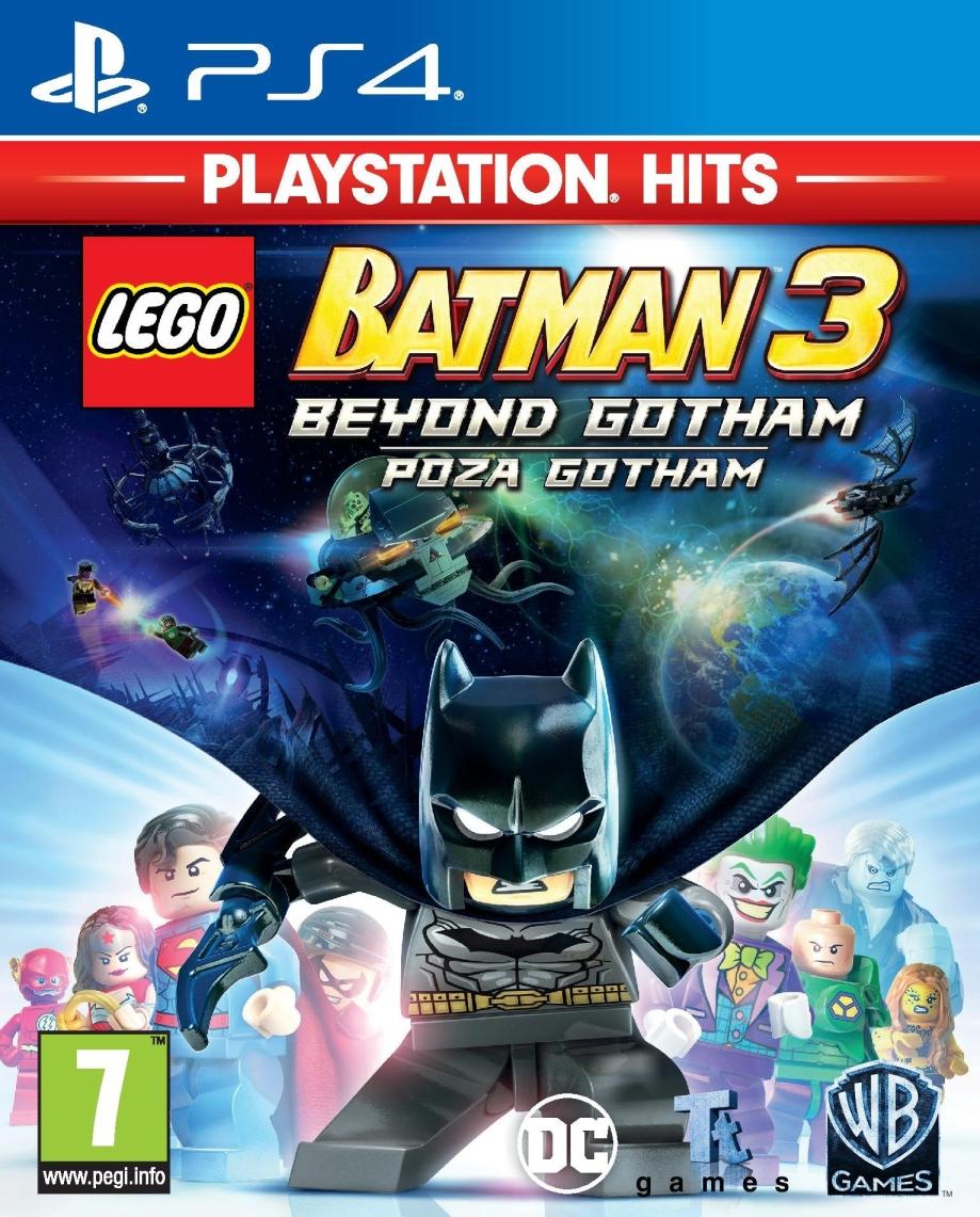 LEGO Batman 3: Poza Gotham Playstation Hits (PS4)