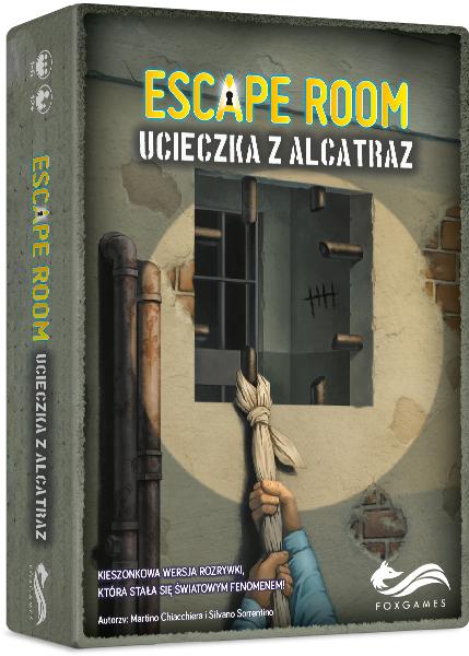 Escape Room. Ucieczka z Alcatraz