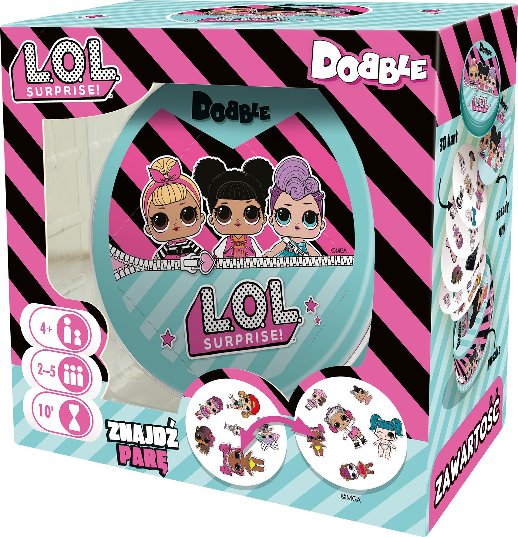 Dobble L.O.L. Surprise (gra karciana)