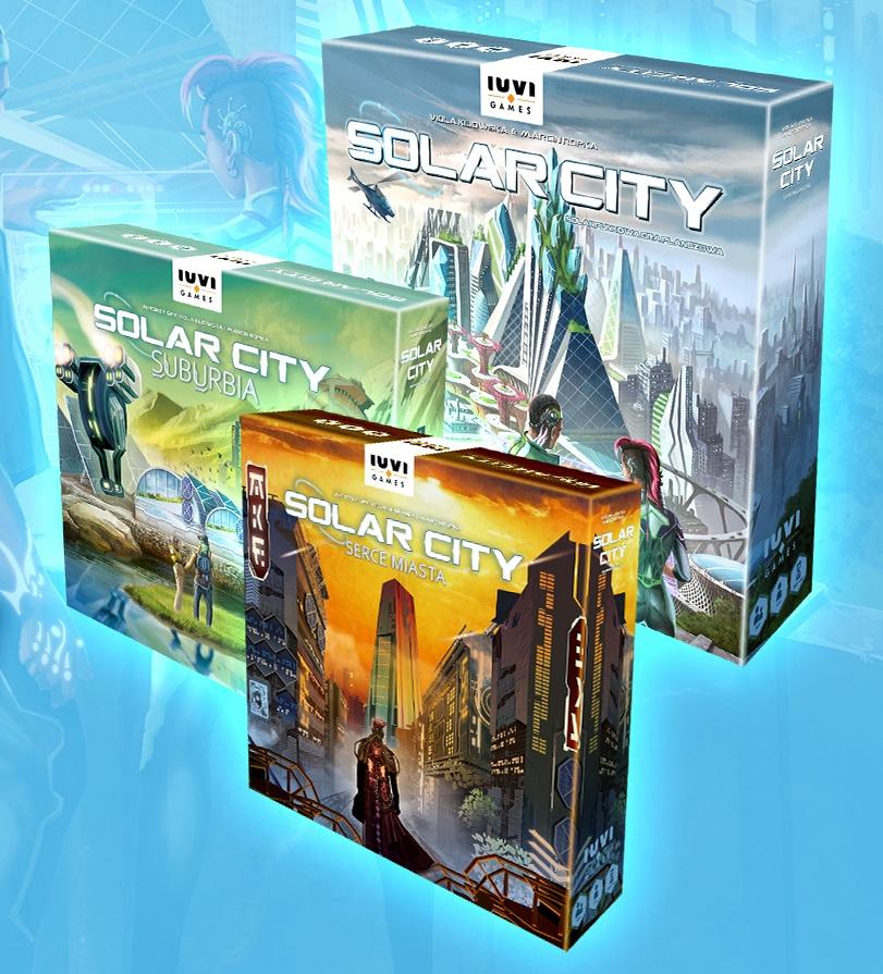 Solar City Zestaw (gra planszowa)