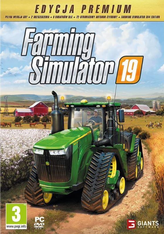 Farming Simulator 19 - Edycja Premium (PC) PL + Komin