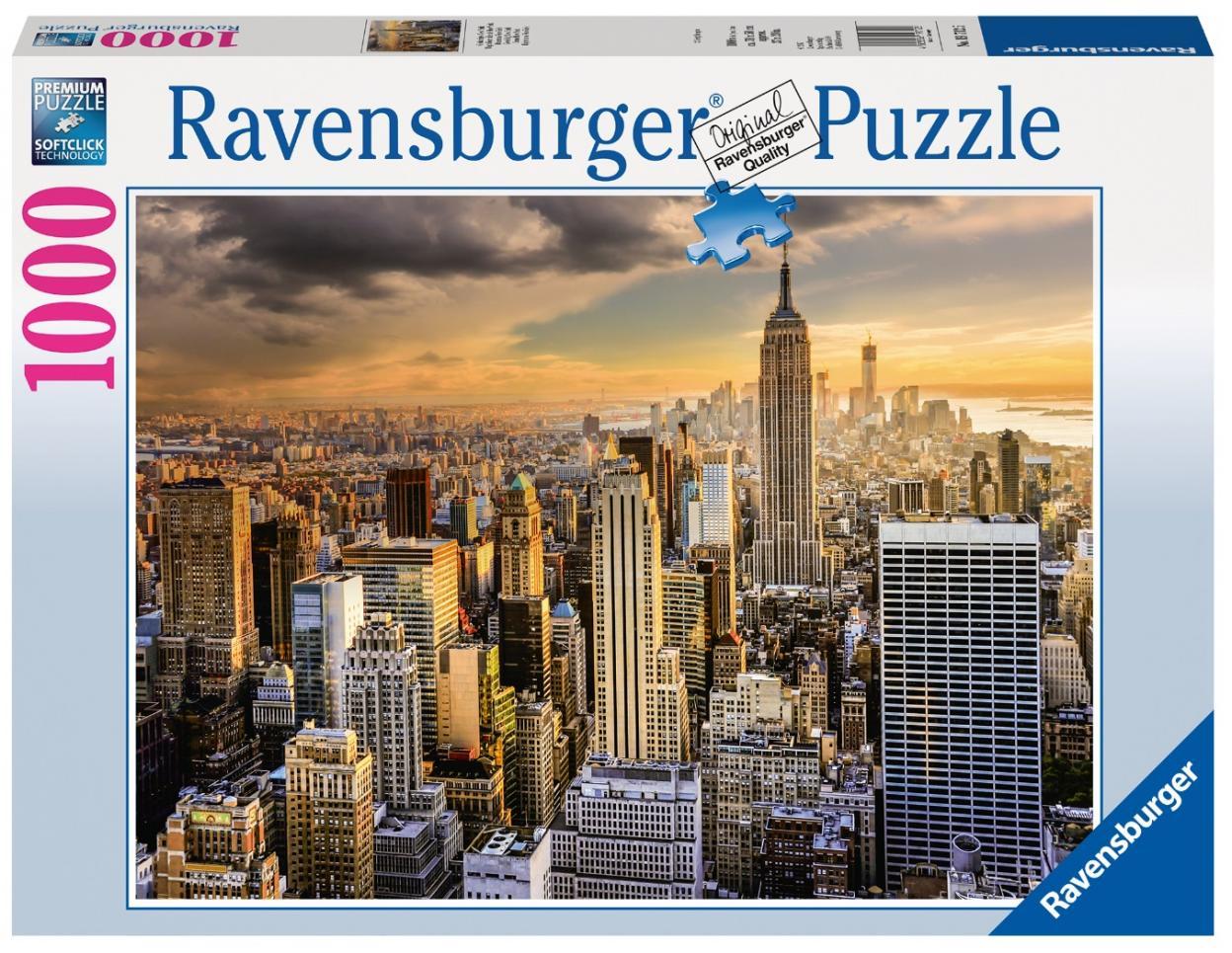 Puzzle 1000 Drapacze chmur Nowy Jork