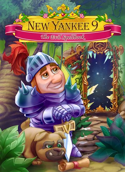 New Yankee 9: The Evil Spellbook (PC) Klucz Steam
