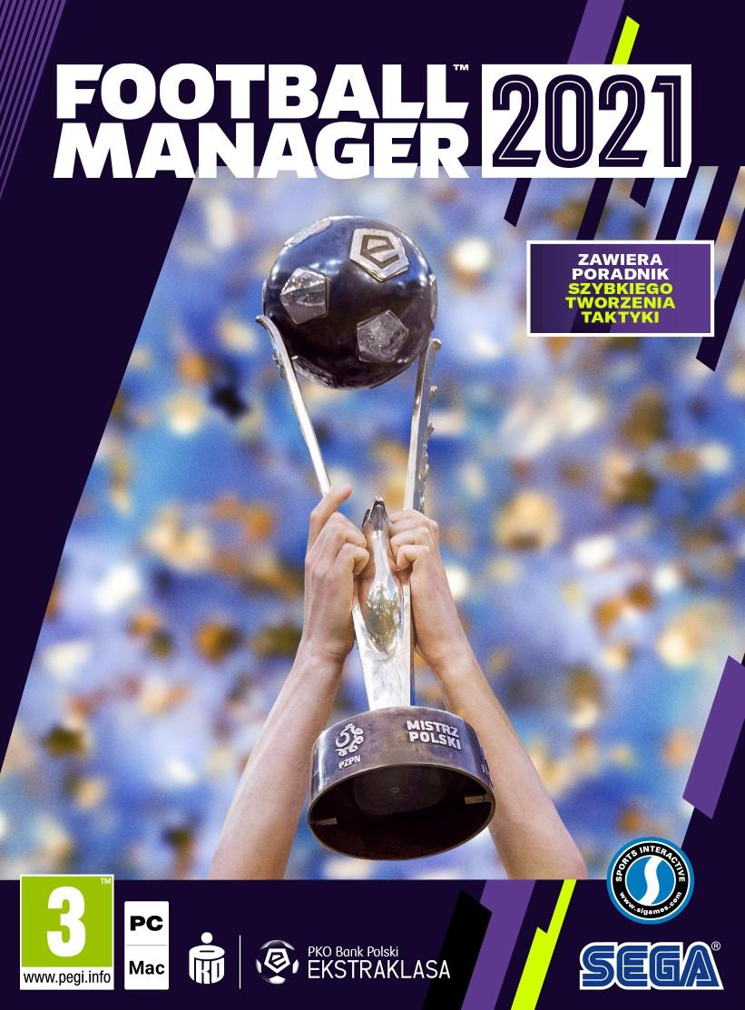 Football Manager 2021 (PC) PL + ebook Football Manager to moje życie gratis!