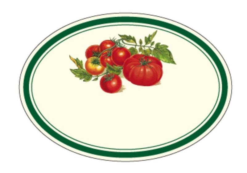 Naklejki dekoracyjne ETK 219 Pomidory 6szt ROSSI