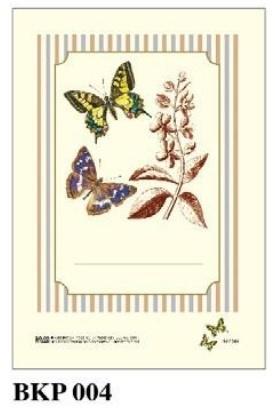 Naklejki dekoracyjne BKP 004 Motyle 6szt ROSSI
