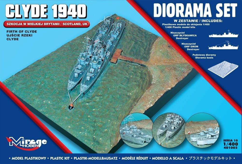 Diorama Zestaw Clyde 1940
