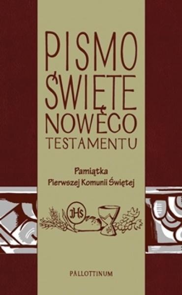 Pismo Świete - NT z ilustracjami ( komunia)