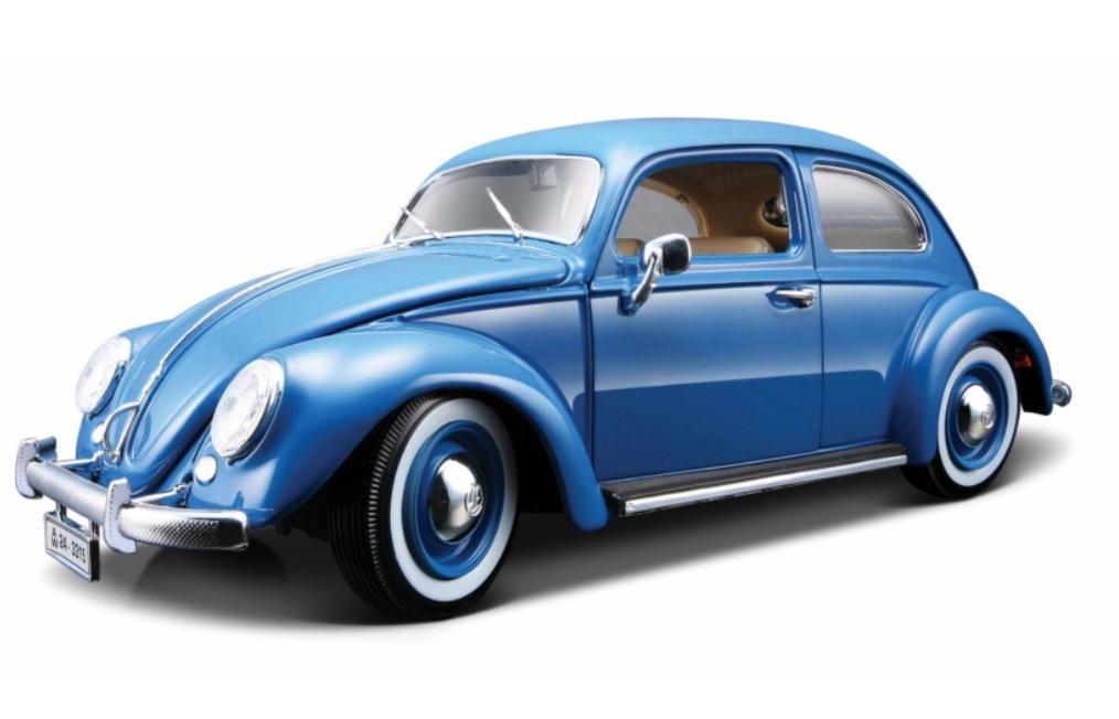 VW Kafert-Beetle Blue 1:18 BBURAGO