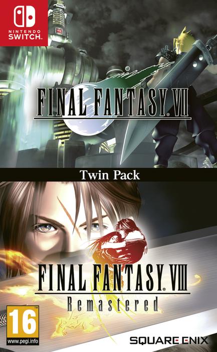 Final Fantasy VIII + Final Fantasy VIII Remastered (Switch)