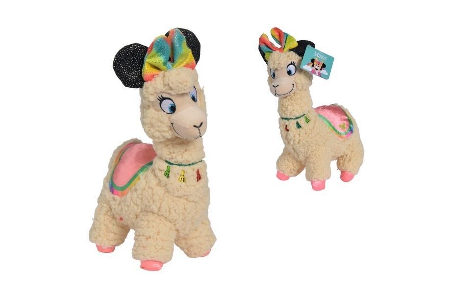 Disney Pluszowa Lama Minnie maskotka 25cm