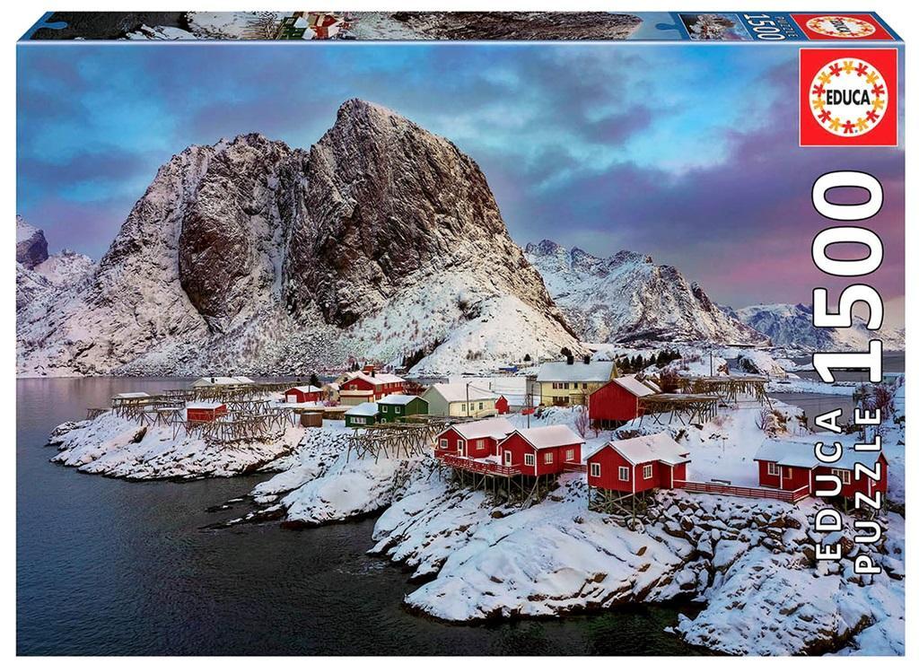 Puzzle 1500 Wyspy Lofoty/Norwegia G3