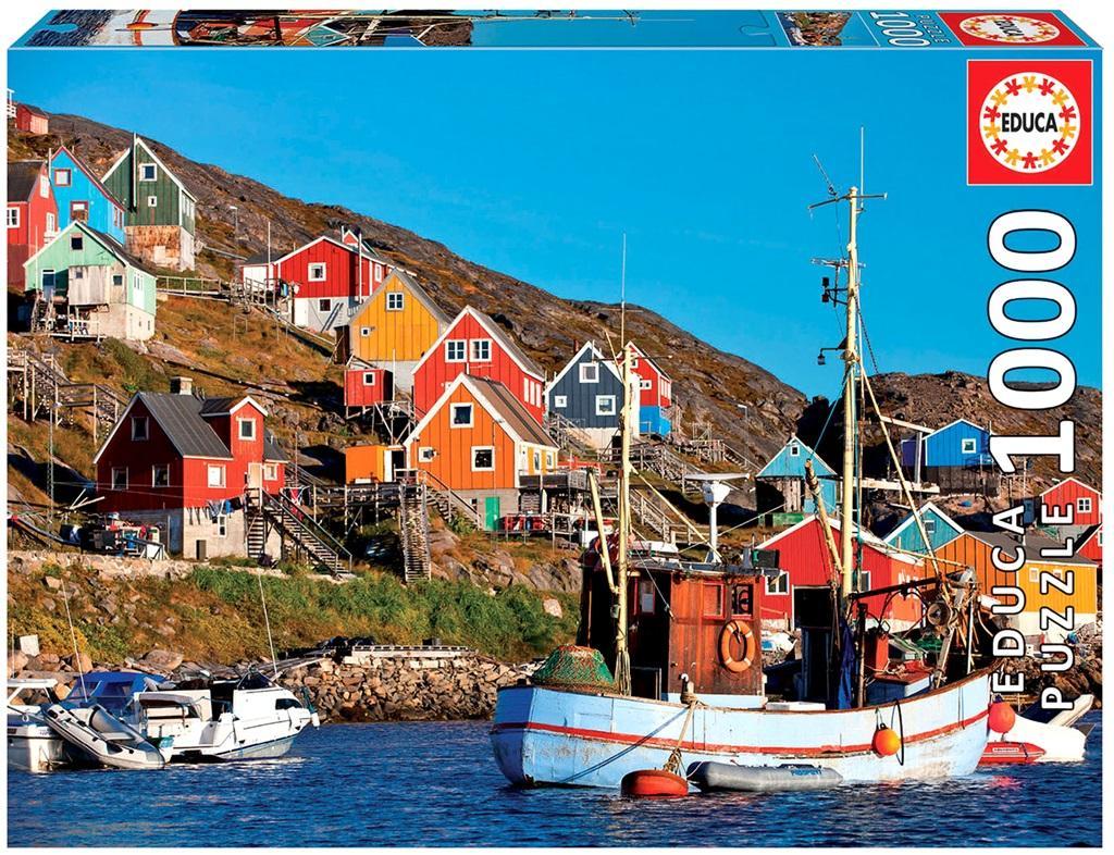 Puzzle 1000 Skandynawskie domy G3